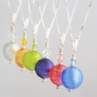 Murano glass Carina Crystal pendants