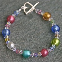 Carina crystal bracelets from Firefrost Designs