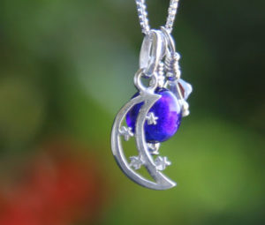 Moon and Stars Pendant