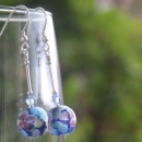 Fiore earrings from Firefrost Designs