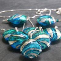 Murano glass pendants Lakeland Waters
