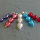 Triple heart pendants from Firefrost Designs