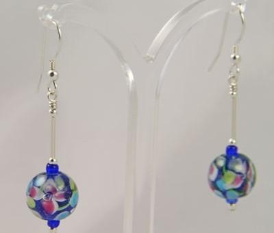 Fiore earrings from Firefrost Designs