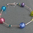Daisy morano glass bracelets from Firefrost Designs