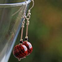 Tartan Earrings
