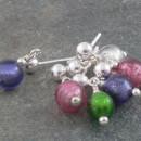 Carina Tiny Murano glass earrings
