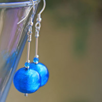 Murano glass earrings by Firefrost