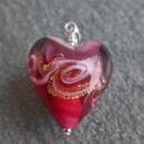 Rosella Rose Murano glass pendant