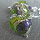 Lakeland pendant in Purple and Green.
