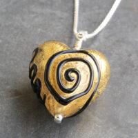Spira heart pendant
