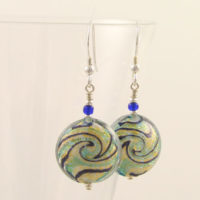 Spirit of the Sea earrings Murano glass