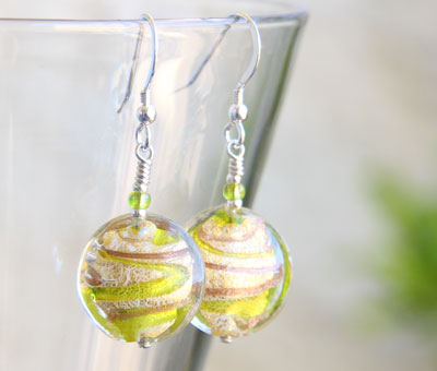 Green-and-Gold-Murano-glass