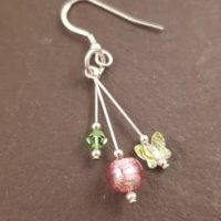 Lakeland Garden Earrings Firefrost Designs