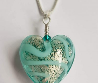 Medusa Heart Marino Pendant Firefrost Designs