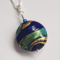 Regale Pendant Firefrost Designs Murano Glass