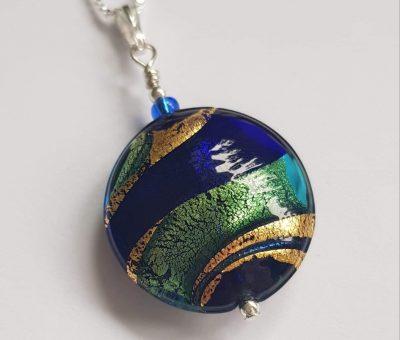 Regale Pendant Firefrost Designs Murano Glass