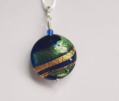 Regale Pendant Firefrost Designs Murano Glass Jewellery
