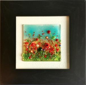 Red Poppy Garden 1